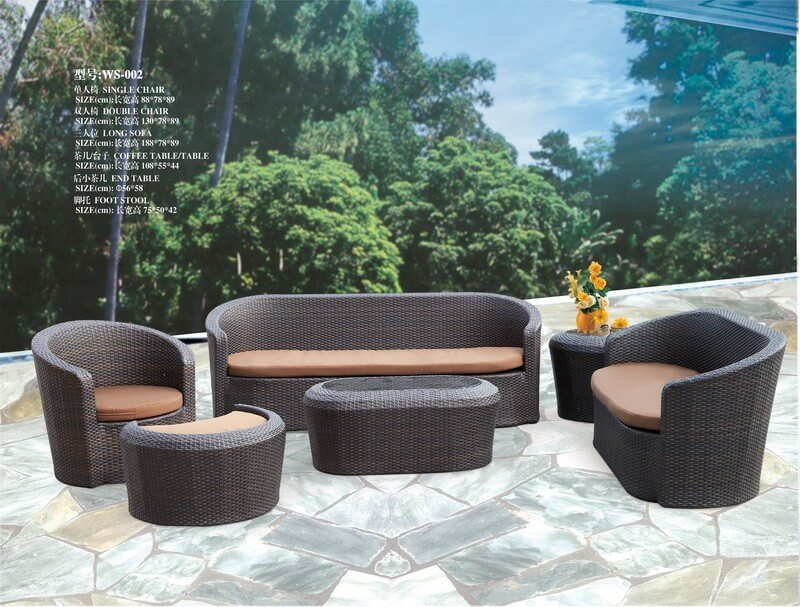Phenomenal Cheap Outdoor Rattan Sofa Set From China Furniture Caraccident5 Cool Chair Designs And Ideas Caraccident5Info