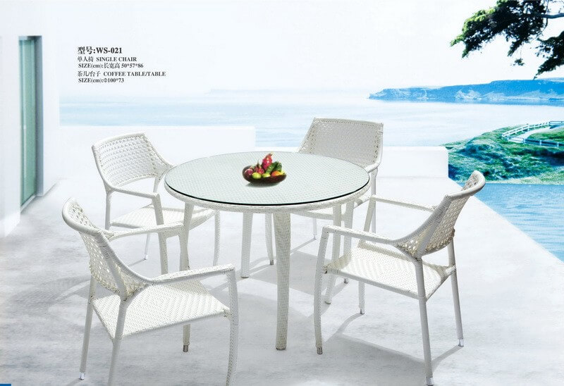 Outdoor Dining Set Round Table.Outdoor Dining Set Hotel Restaurant Furniture Manufacturer