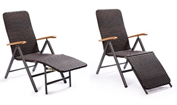 Cool Brown Outdoor Recliner Arm Rattan Chair With Footrest Sale Squirreltailoven Fun Painted Chair Ideas Images Squirreltailovenorg
