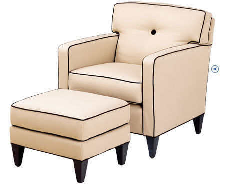 high_end_cream_leisure_chair_ottoman_accent_two_arm_chaise_lounge_1