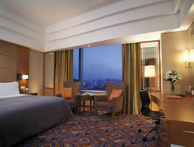 Luxury 5 Star Hotel Bedroom Furniture Sets Eco Friendly